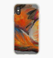 Sleeping Fox (painting) iPhone Case