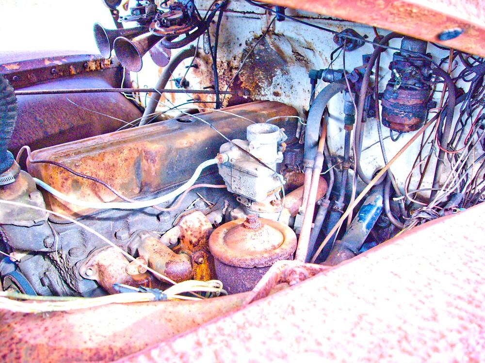 Rusty Truck Series #1 by Rod  Adams