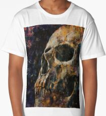 Gold Skull Long T-Shirt