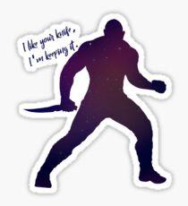 Drax Galaxy Sticker