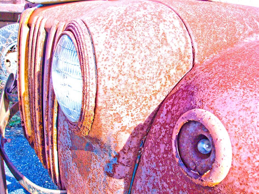 Rusty Truck Series #5 by Rod  Adams
