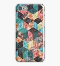 Colorful Isometric Cubes VI iPhone Case/Skin