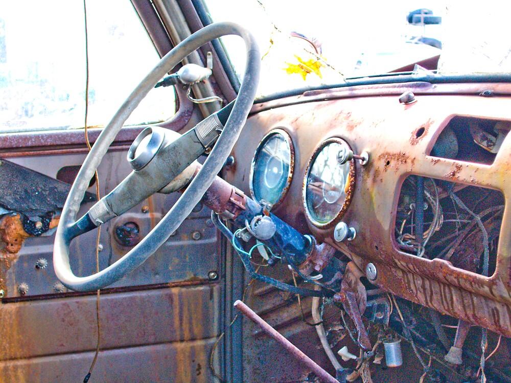 Rusty Truck Series #8 by Rod  Adams
