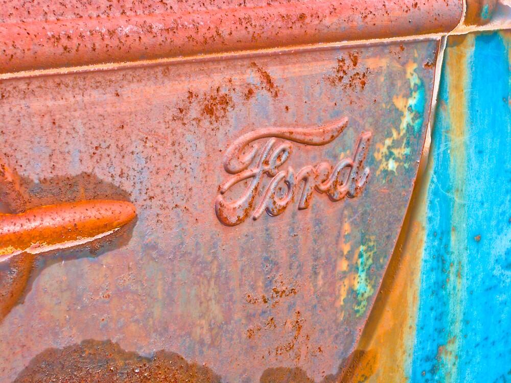 Rusty Truck Series #9 by Rod  Adams