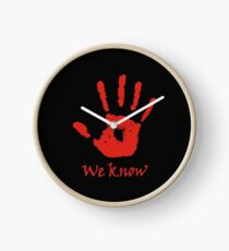 We Know - Dark Brotherhood Clock