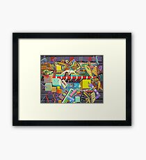 """Cosmic Consciousness"" 7 Framed Print"