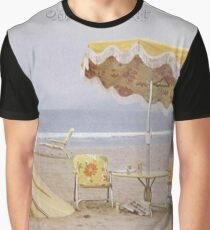 Neil Young On The Beach lp cover Graphic T-Shirt