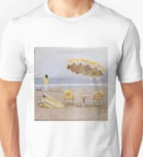 Neil Young On The Beach lp cover Unisex T-Shirt