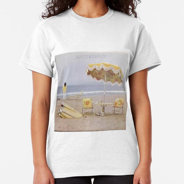 Neil Young On The Beach lp cover Classic T-Shirt