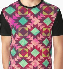 Crisscross Pattern Tribal 4 Graphic T-Shirt