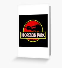 Horizon Park Greeting Card