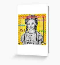 (Chewing Gum - Michaela Coel) - yks by ofs珊 Greeting Card