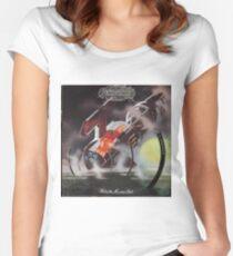 Hawkwind, hard rock, psych, psychedelic, acid rock  Women's Fitted Scoop T-Shirt
