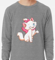 Marie smiling from Aristocats Lightweight Sweatshirt