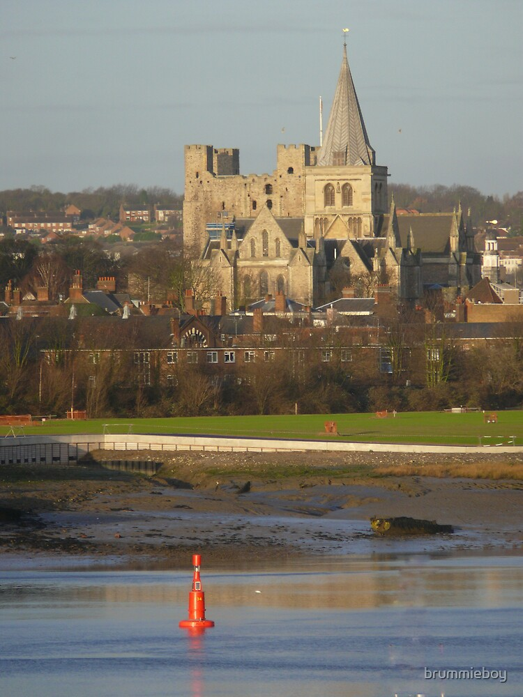 Rochester Cathedral and Castle by brummieboy