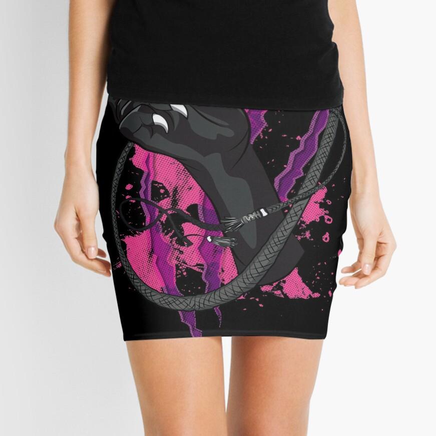 The Cat Mini Skirt