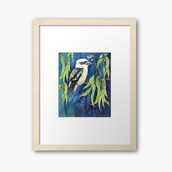 Cheeky Kookaburra Framed Art Print