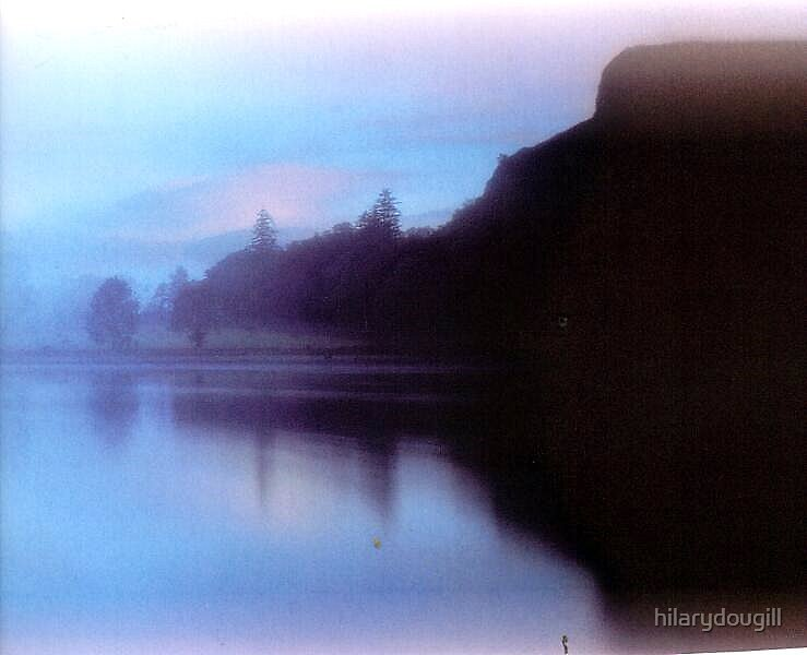 Lake 14 in the scan series by hilarydougill
