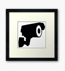 CCTV Framed Print