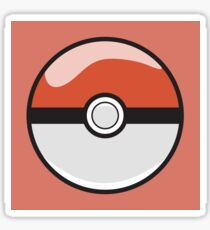 Red Pokeball - Pokemon Sticker