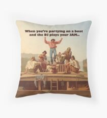 Boat Party Throw Pillow
