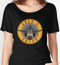 Guns and Ships - Guns and Roses Women's Relaxed Fit T-Shirt