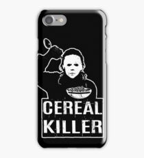 Cereal Killer T-Shirt Funny Foodie Shirts Halloween Shirt iPhone Case/Skin