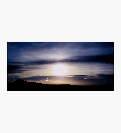 Cloud Sunset Photographic Print