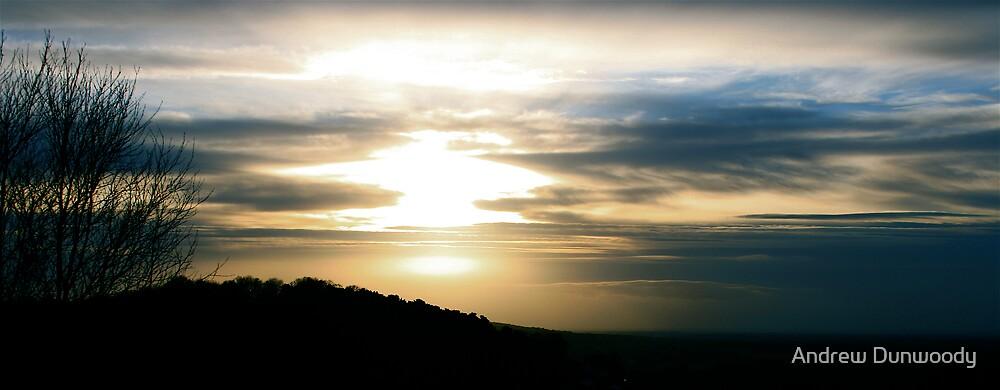 Melting sun by Andrew Dunwoody