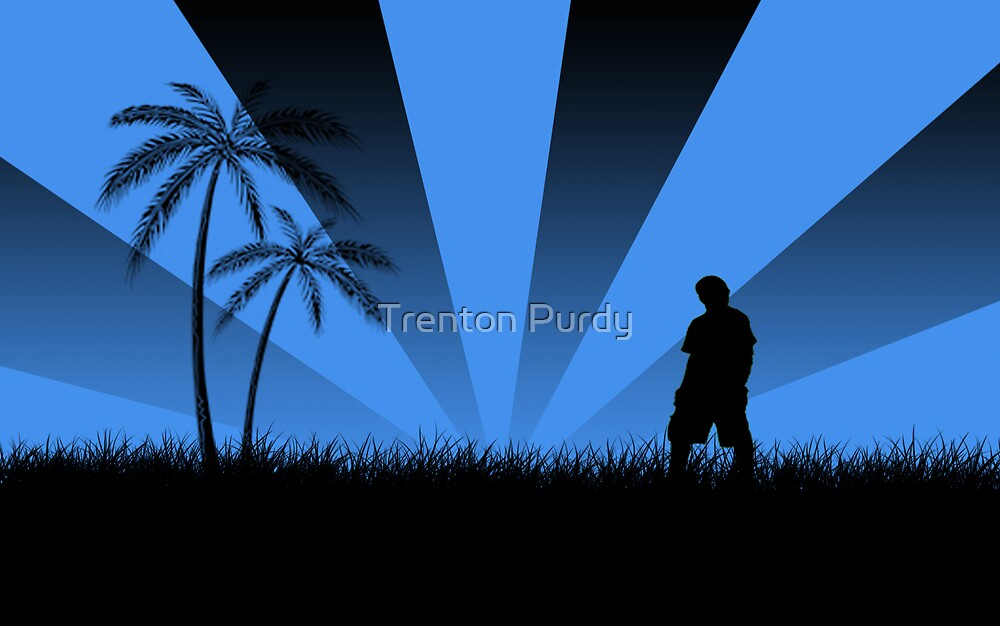 A Silhouette of Me by Trenton Purdy