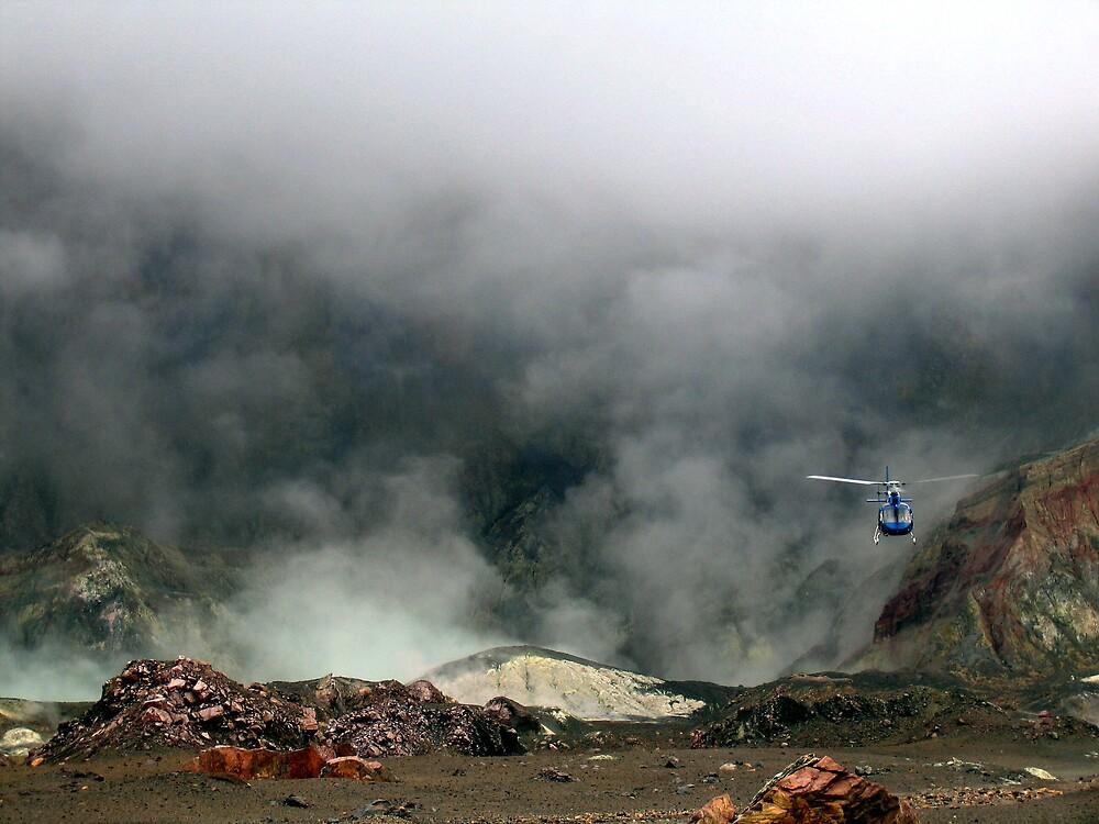 helicopter escape by david stevenson