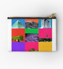 7 Wonders of the world Studio Pouch