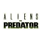 «AVP, Alien Vs Predator Logotipo» de 411drpkv4c