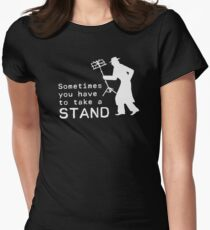 Take a Stand Women's Fitted T-Shirt