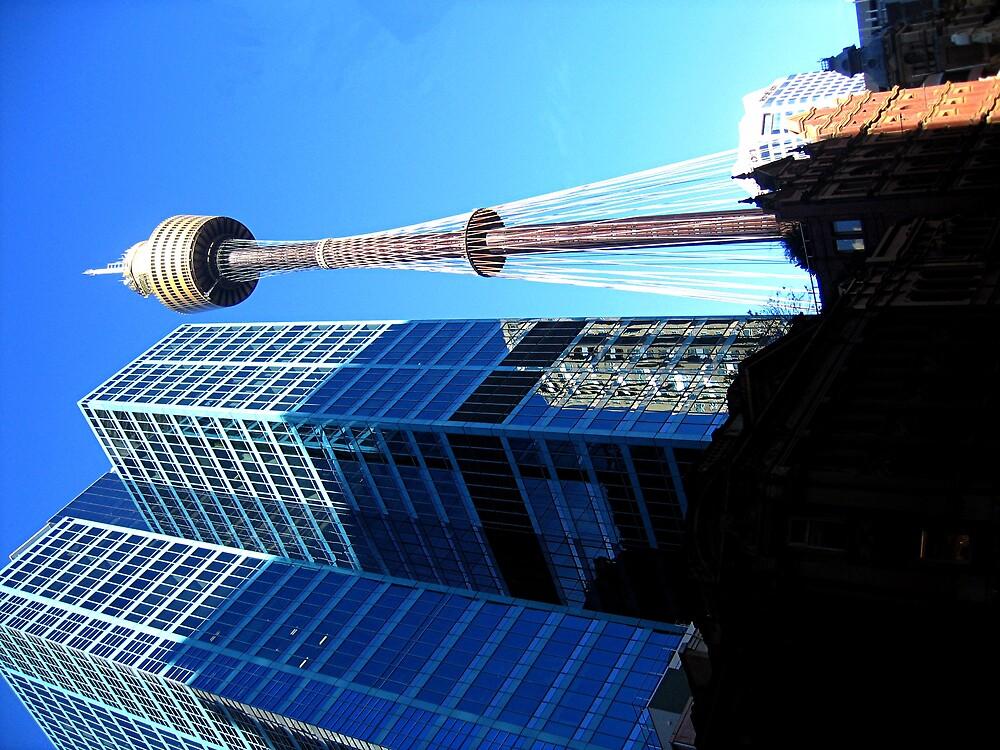 skytower by david stevenson