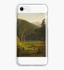 Eagle Cliff, Franconia Notch, New Hampshire by Jasper Francis Cropsey iPhone Case/Skin