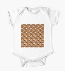 Serious cats in top hats pattern Kids Clothes