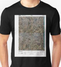 USGS TOPO Maps Iowa IA Guss 20100422 TM Unisex T-Shirt