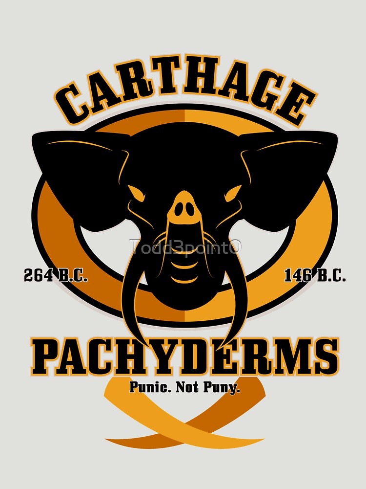 Carthage Pachyderms by Todd3point0