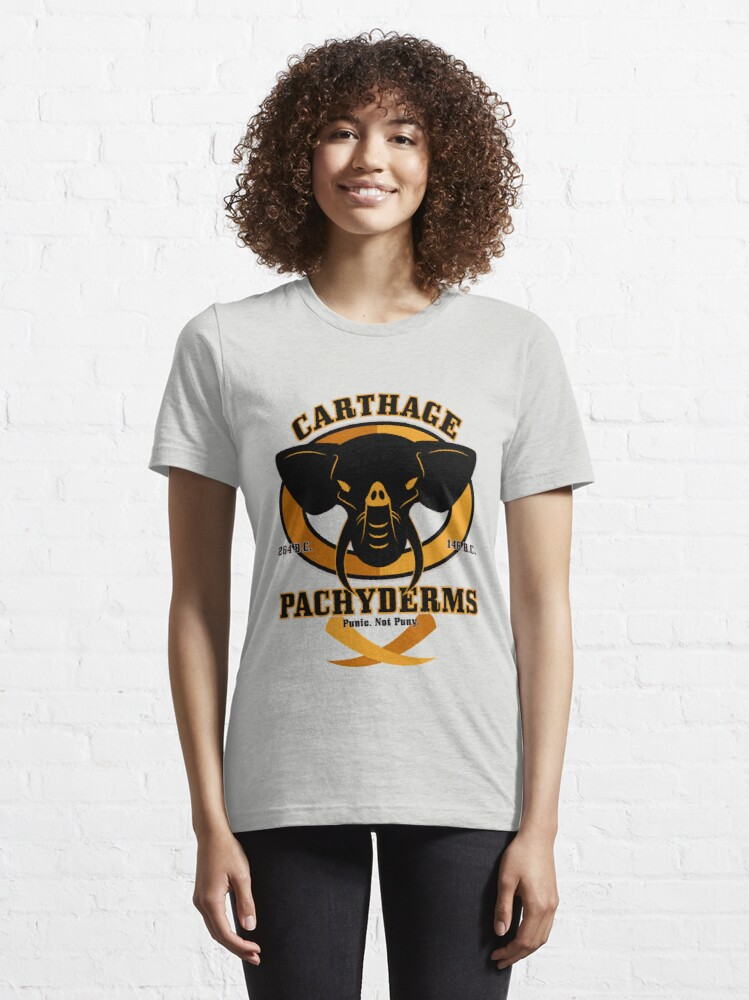Alternate view of Carthage Pachyderms Essential T-Shirt