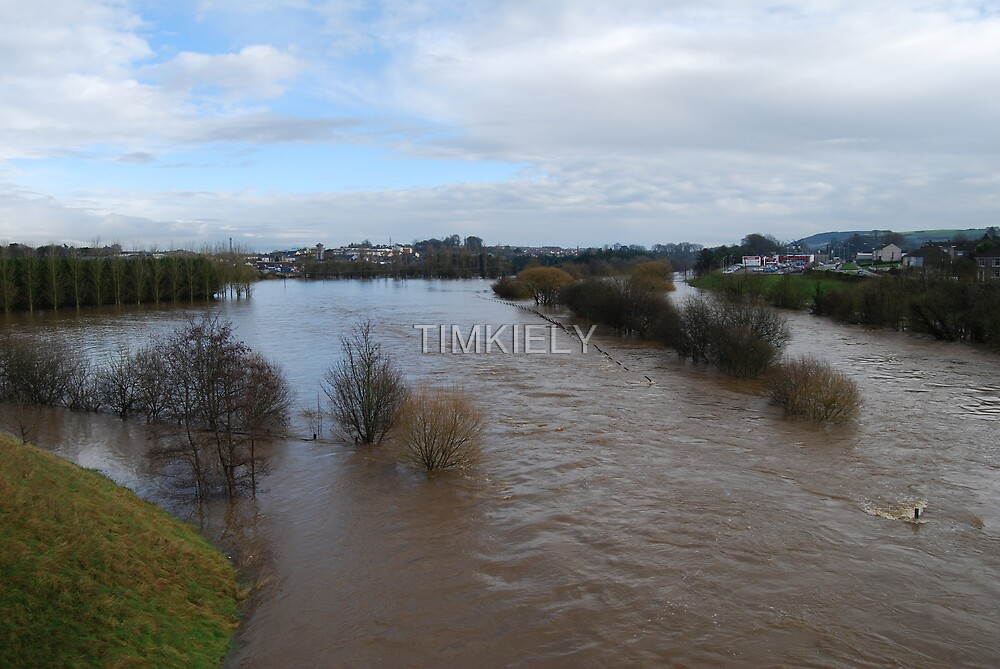 MY HOME TOWN FLOODED by TIMKIELY
