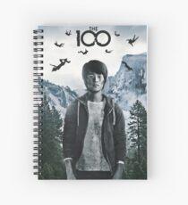 Monty THE 100 Spiral Notebook