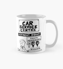 Car Servicing Centre Has Different Shock-Absorbers Mug