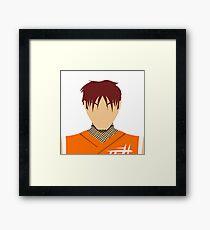 Guy Vector Framed Print