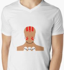 Dhalsim Vector Men's V-Neck T-Shirt