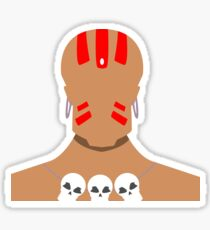 Dhalsim Vector Sticker
