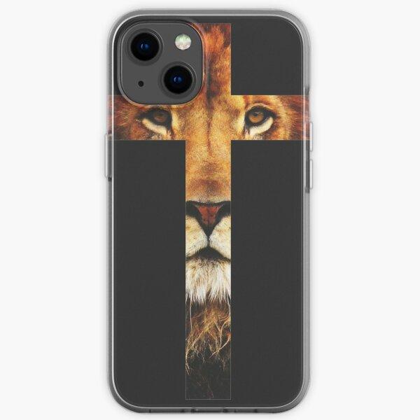 wo Jesus von einem der Ältesten erhöht wird, die über ihn sagen: Der Löwe des Stammes Juda iPhone Flexible Hülle