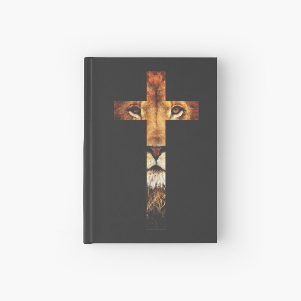 Christian Cross Hardcover Journal
