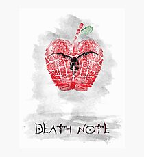 Death Note Photographic Print