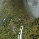 Stirling Falls, Milford Sound by Kevin McGennan
